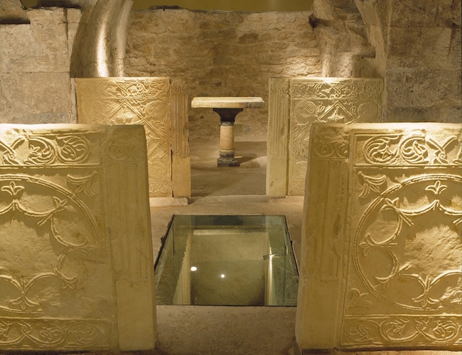 Crypte van San Vicente Mártir in Valencia