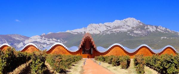 Hypermoderne bodega in Spaans wijngebied La Rioja