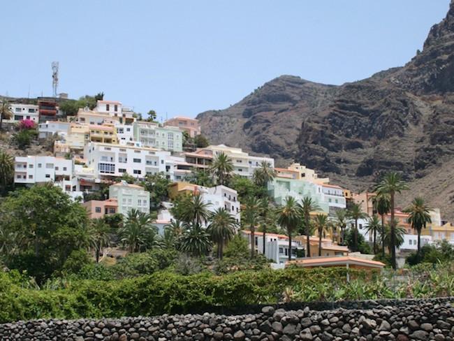 Een dorpje op La Gomera (Canarische Eilanden)