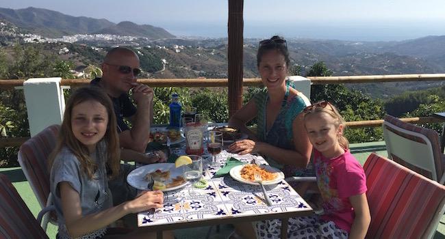 Heerlijk eten zonder poespas bij restaurant La Venta de Frigiliana in het Axarquia gebied
