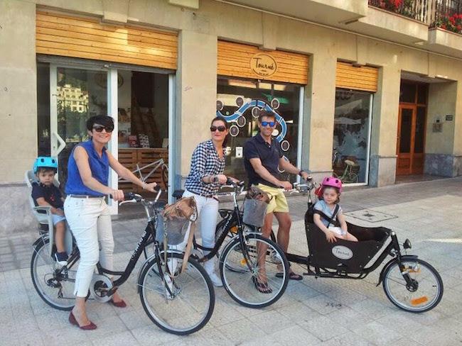 Fietsen in Bilbao met kinderen via Baja Bikes
