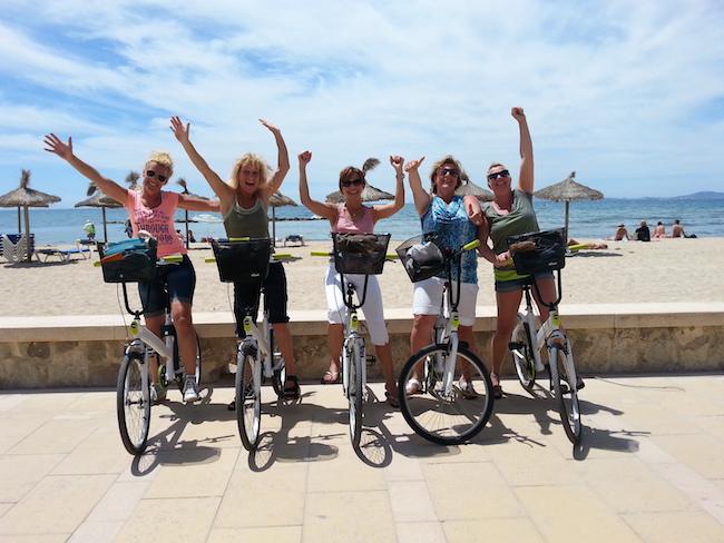 Fietsen in Palma de Mallorca (Mallorca, Balearen) met Baja Bikes
