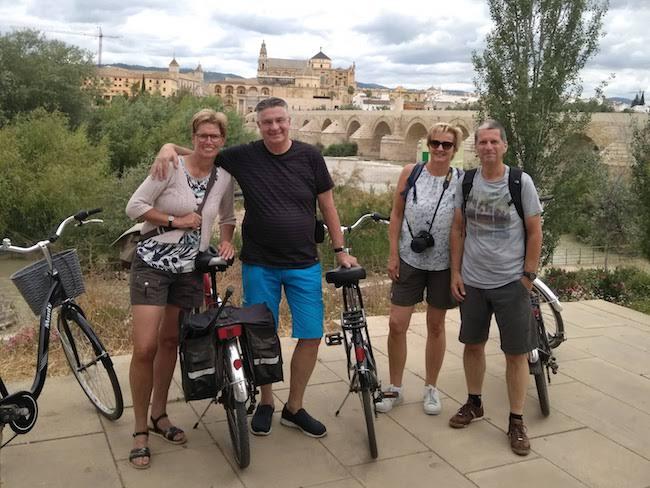 Een fietsfout van Ontdek Cordoba