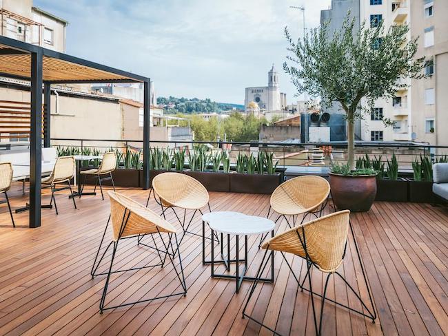 fietsvriendelijk 4-sterren hotel Gran Ultonia Girona