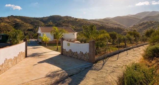 Een landelijk gelegen vakantiehuis in Spanje