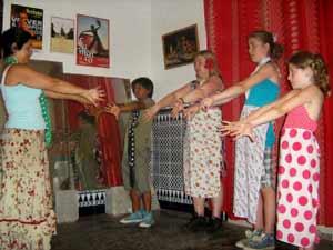 Flamenco dansles voor kids bij Maria La Serrana in Sevilla, dé Flamenco stad van Spanje