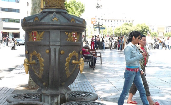 De Fuente de Canaletas in Barcelona