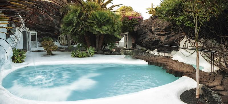 Het huis van kunstenaar Cesar Manrique op Lanzarote