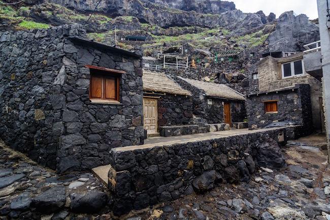 Het gehucht Pozo de las Calcosas op El Hierro