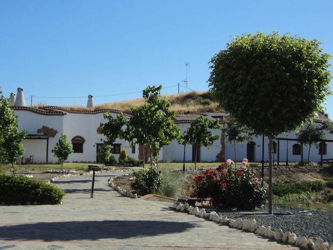 Grotwoning in Guadix (Granada, Andalusië)