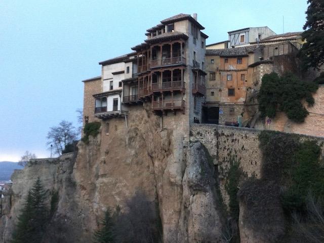 De Hangende Huizen van Cuenca (Castillië La Mancha, Midden Spanje)