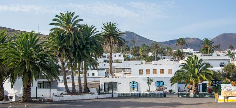 Het idyllische dorpje Haría op Lanzarote