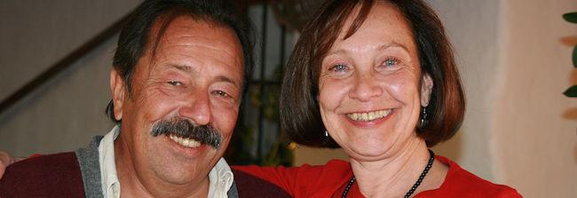 Hector en Maria van restaurant La Venta de Frigiliana