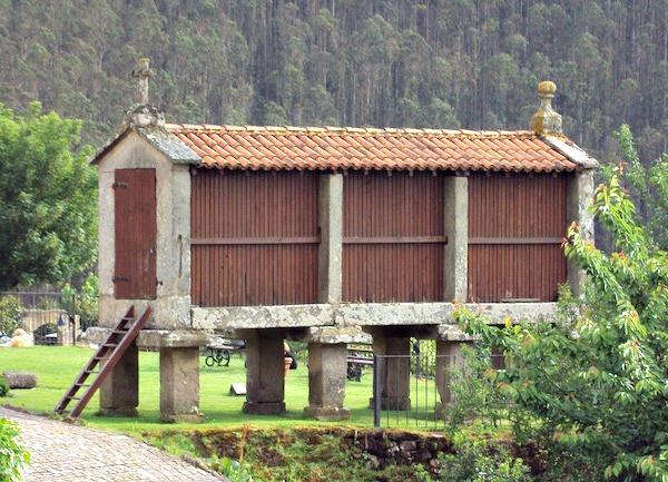 De Horreo, prachtige oude graanschuur