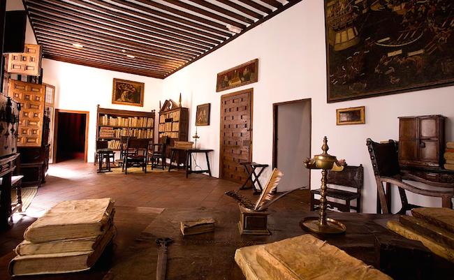Het Museum-huis van Lope de Vega in Madrid