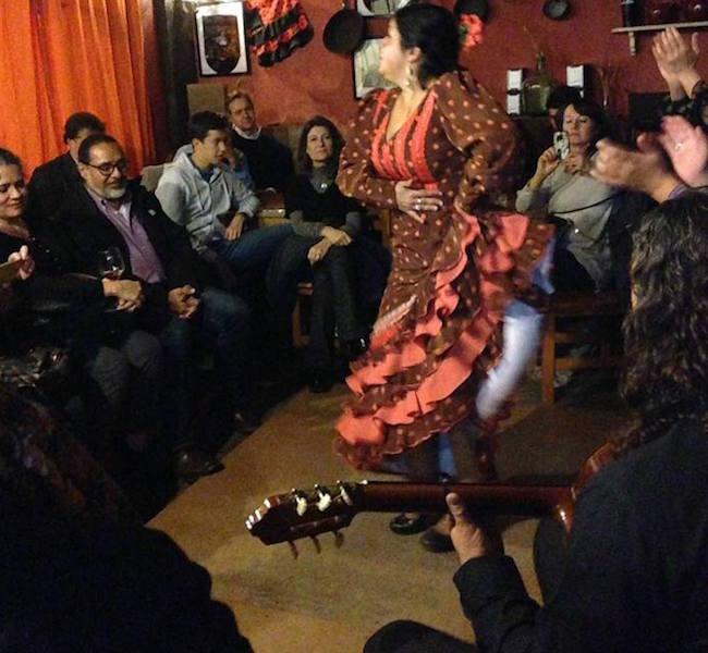 Een intiem Flamenco optreden van Flamenco Esencia in Bar T de Triana (Sevilla, Zuid Spanje)