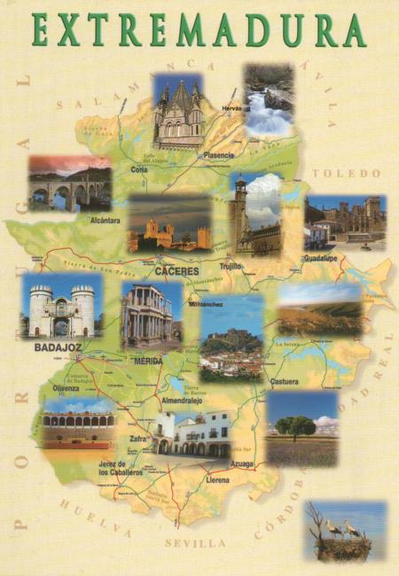 Culturele bezienswaardigheden in Extremadura (Spanje)