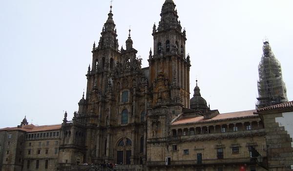 Kathedraal in bedevaartsoord Santiago de Compostela