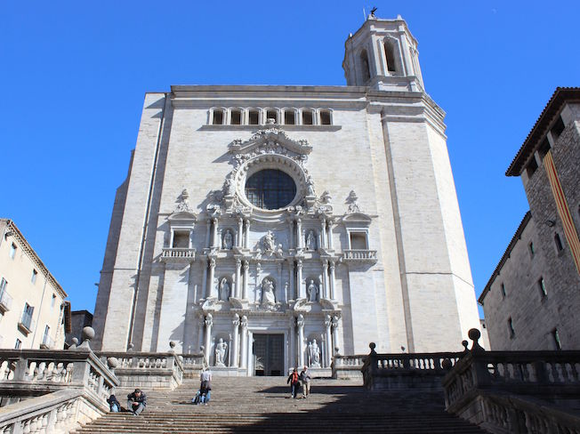 Kathedraal van Gerona (Catalonië, Spanje)