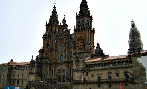 De kathedraal van Santiago de Compostela