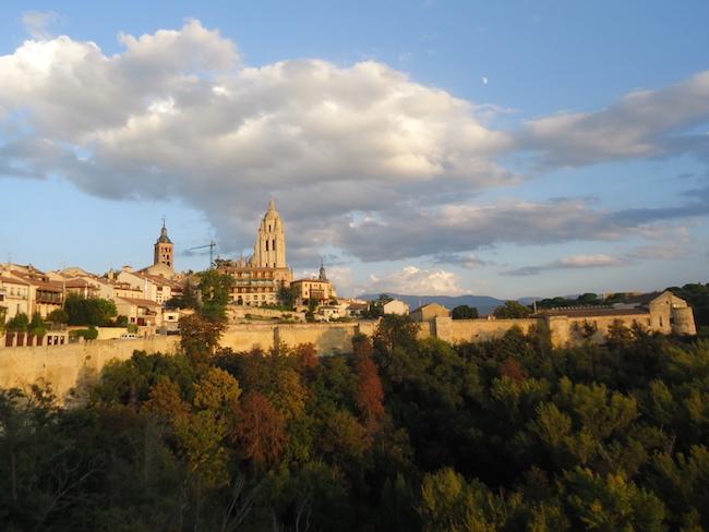 Santa Maria kathedraal van Segovia (Midden Spanje)