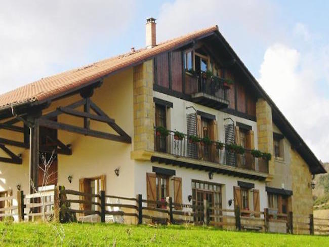 Kindvriendelijke vakantieboerderij buiten San Sebastian (Baskenland)