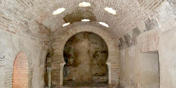 Kleedruimte Arabische baden Jaén (Andalusië)