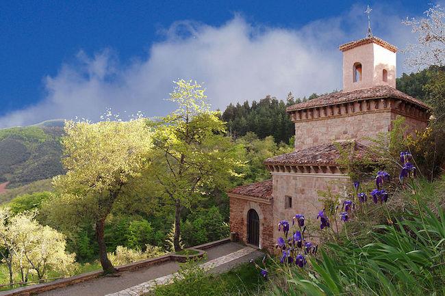 Werelderfgoed klooster San Milan de Suso in La Rioja (Spanje)