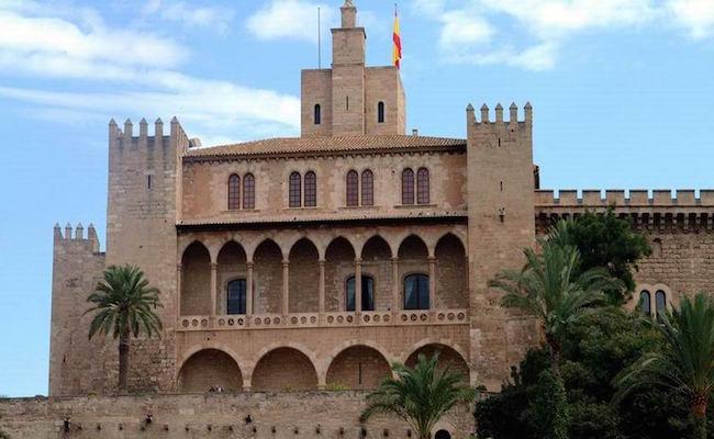 Koninklijk Paleis van La Almudaina op het eiland Mallorca