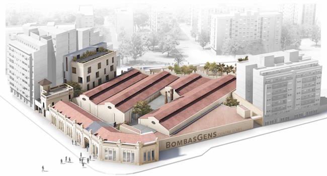 Ontwerpfout van kunstcentrum Bombas Gens in Valencia