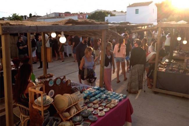 la mola kunstmarkt op formentera