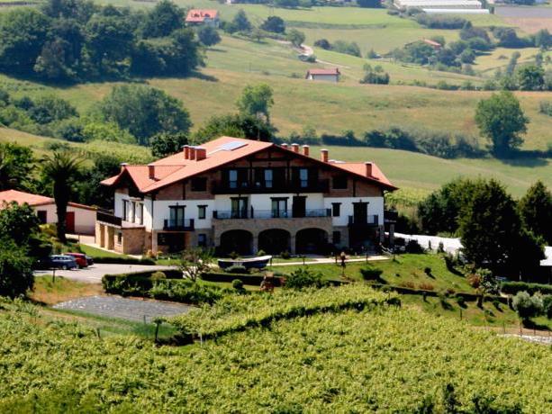 Gezellige vakantieboerderij buiten Getaria (Baskenland)