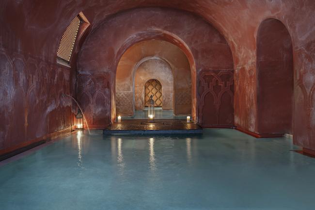 Lauw- en warmwaterbad Hammam al Andalus Madrid