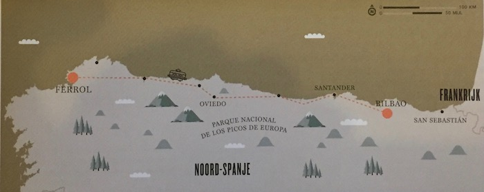FEVE treinreis door Noord-Spanje - mooiste treinreis door Spanje volgens Lonely Planet