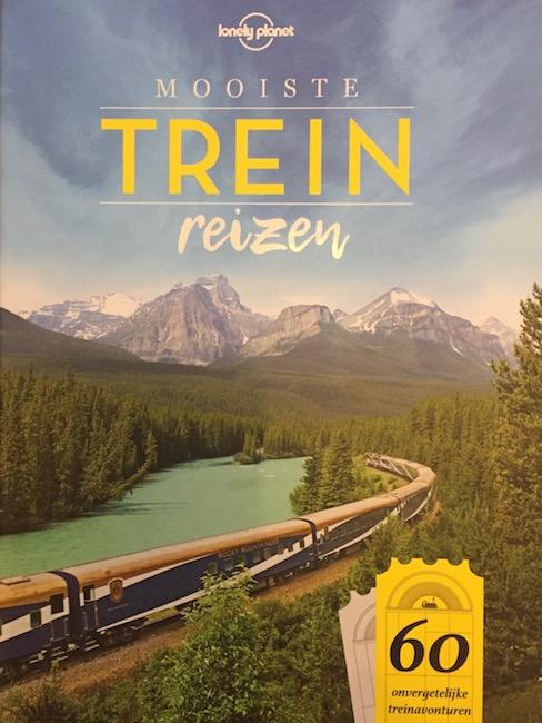 Lonely Planet boek Mooiste treinreizen