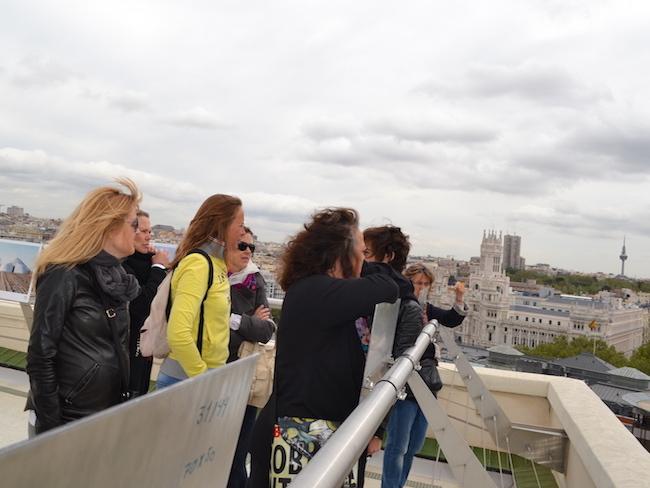 MadWay tour Madrid vanaf de daken