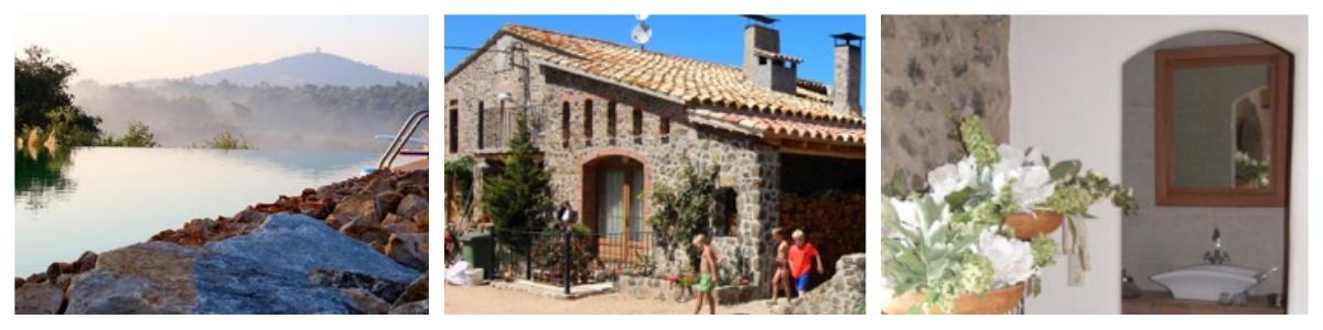 vakantiehuis, appartement en camping Masia la Pineda in Catalonie