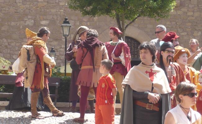 Middeleeuwse feesten in Siguenza (Midden Spanje)