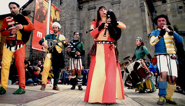 Middeleeuwse feesten in Spanje