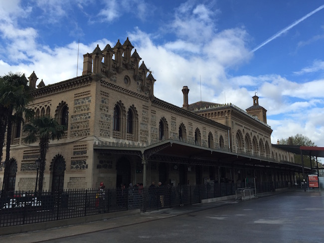 Het betoverende treinstation van Toledo, gebouwd in Mudejar stijl