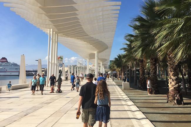 Muelle Uno in Malaga stad