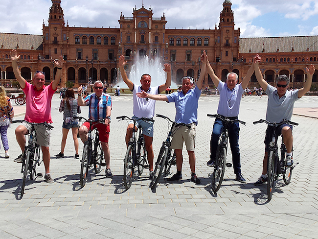 Fietstour Sevilla Sights met Nederlandstalige gids
