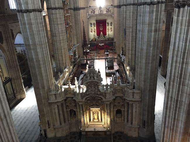 De nieuwe kathedraal van Salamanca (Midden Spanje)