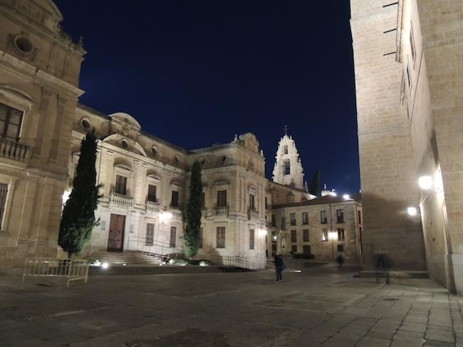 Monumentale binnenstad in Salamanca (Midden Spanje)