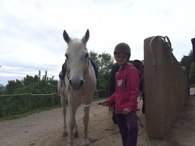 Paardrijden op en in de omgeving van vakantiehuis Vilaformiù in Catalonië