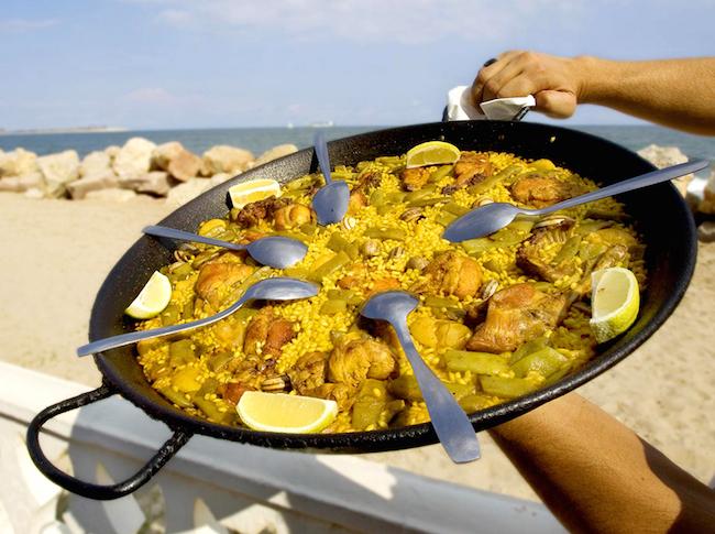 Paella uit Valencia