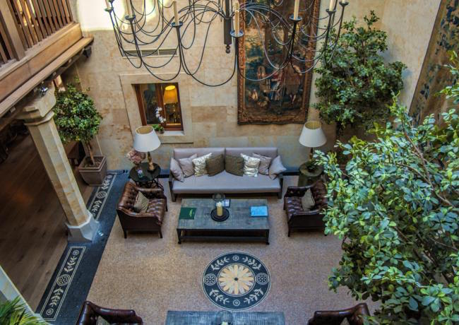 5-sterren Grand Hotel Don Gregorio in Salamanca (Midden Spanje)