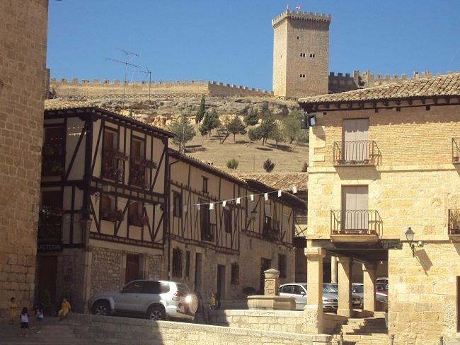 Peñaranda de Duero in de provincie Burgos (Castillië en Leon)