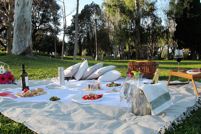 Laat je verwennen met het Luxe Picknick Pakket van Picnic! Picnic! in Barcelona