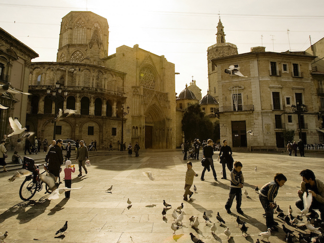 Oude binnenstad van Valencia